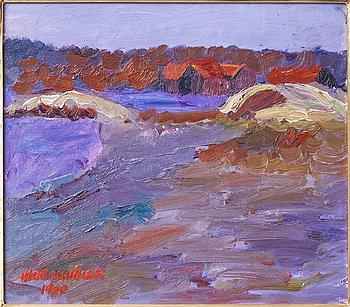 Inge Schiöler, oil on canvas, Signed Inge Schiöler and dated 1960.