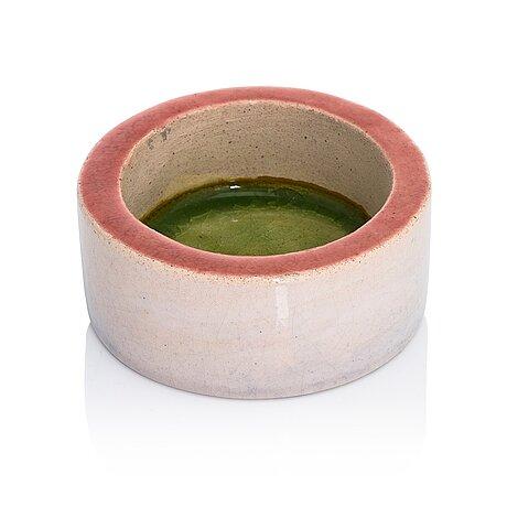 Rut bryk, a ceramic bowl, signed bryk.