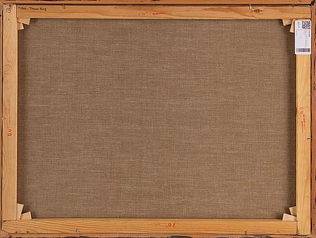 Kjell jÖrstedt, oil on canvas, signed kjell jörstedt and dated 1976.