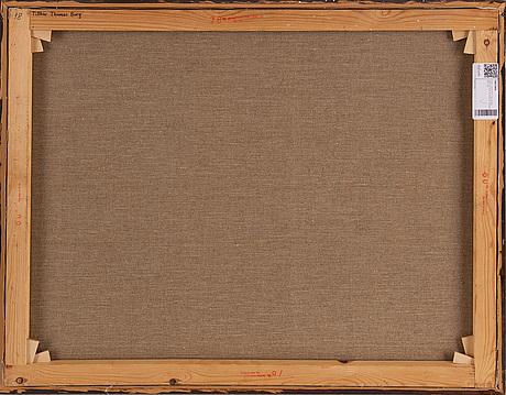 Kjell jörstedt, oil on canvas, signed kjell jörstedt and dated 1977.