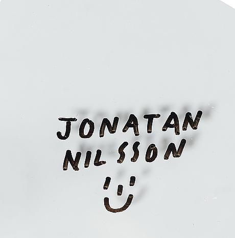 """Jonatan nilsson, """"mirror lamp"""", vägglampa, unik, studio jonatan nilsson, 2017."""
