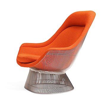"4. Warren Platner, a model ""1705"" easy chair, for Knoll International, post 1962."