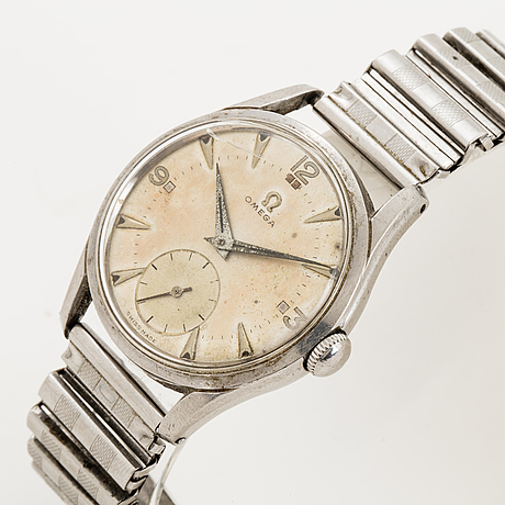 Omega, wristwatch, 35.5. mm.