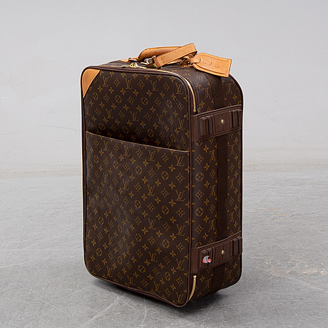 Louis vuitton, 'pegase 55' and a garment cover.