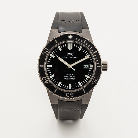 Iwc, gst aquatimer, wristwatch, 42 mm.