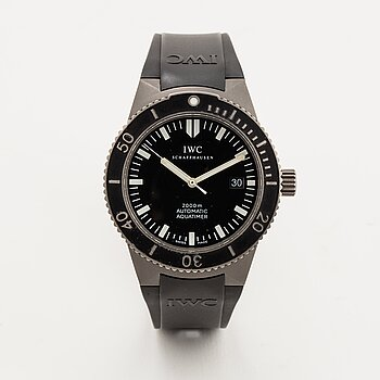 IWC, GST Aquatimer, wristwatch, 42 mm.