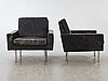 A pair of 1960:s easy chairs.