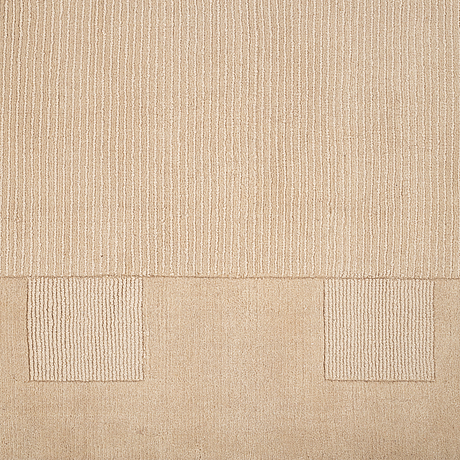 Matto, loomed, india, ca 275 x 200 cm.