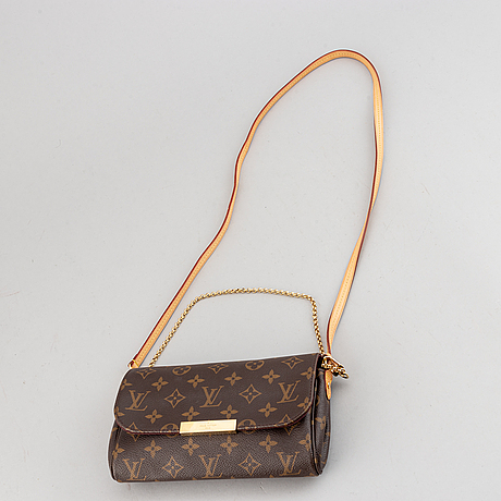 Louis vuitton, a 'favorite pm' bag.