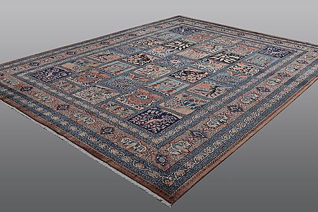 A carpet, kashmar, ca  395 x 298 cm.