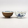 A set of 2 bowls, 2 plates and 2 cups and 2 saucers china qianlong.