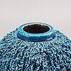 Gunnar nylund, a stonewear vase.