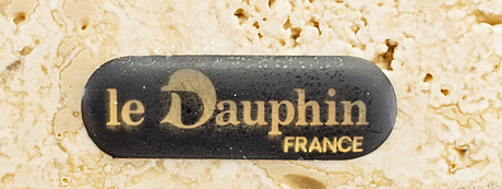 Bordslampor ett par le dauphin frankrike 1900-talets senare del.