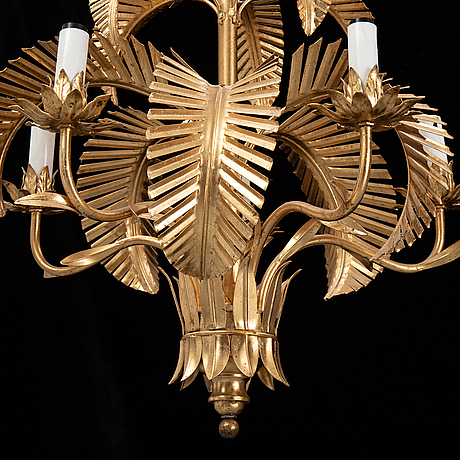 A late 20th century ceiling light, probably italy.