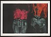 George segal, etching and aquatint, signed and dated -75, numbered 12/46.