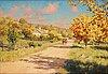 Johan krouthén, autumn landscape.