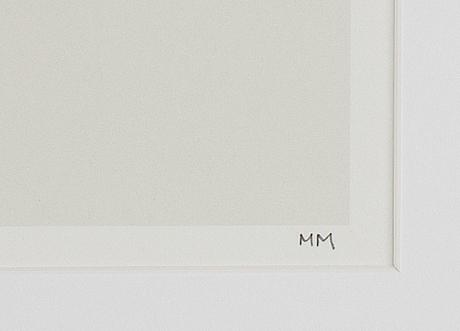 Marcus mårtenson, silkscreen in colours, 2014, signed 2/25.