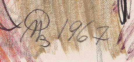 Olavi martikainen, öljy kankaalle, signeerattu ja päivätty -67.