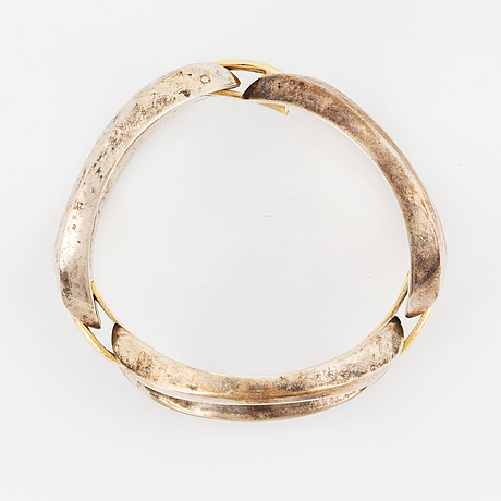 Georg jensen, silver bracelet, nr 426.
