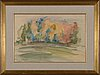 Verner thomé, watercolour, signed and dated -47.