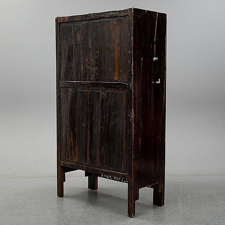 A chinese wooden cabinet. first half of the 20th century.