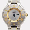 Must de cartier, must 21, wristwatch, 28 mm.