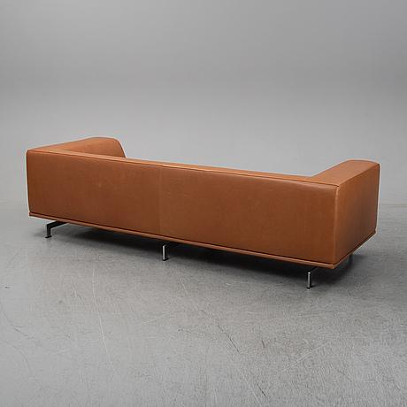 Hannes wettstein, sofa, model ej 450 for erik jørgensen. denmark. 21th century.