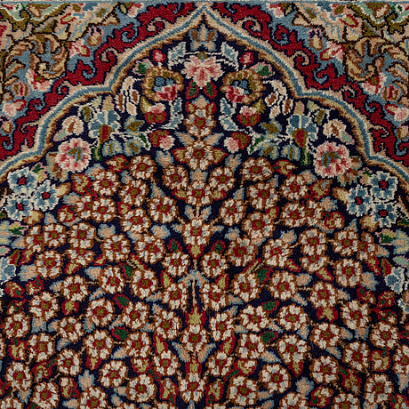 A carpet, old, kerman, ca 284 x 192 cm.