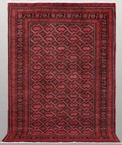 An afghan carpet, ca 286 x 202 cm.