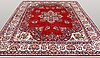A carpet, sarouk, ca 355 x 269 cm.