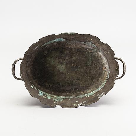 GlasskÖljare, argent haché, 1700-tal.