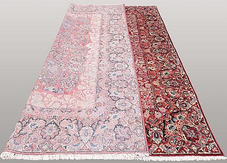 Matta, semiantik sarouk, ca 358 x 270 cm.