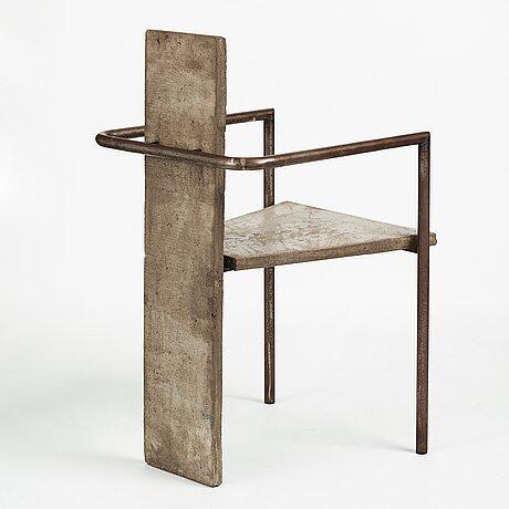 "Jonas bohlin, ""concrete"", karmstol, källemo efter 1981."
