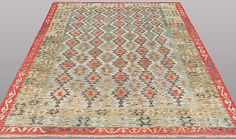 A carpet, kilim, ca 287 x 207 cm.