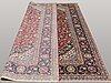 A carpet, kashan, ca 332 x 232 cm.