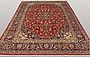 A carpet, kashan, ca 387 x 223 cm.