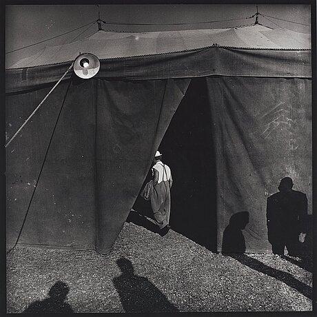 """Hans gedda, """"den ensamme clownen, cirkus schreiber"""", 1978."""