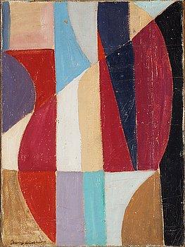Bengt Lindström, oil on canvas, signed with stamp and estate stamp verso.