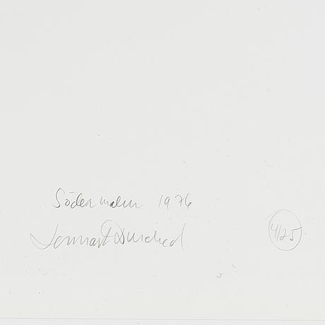 Lennart durehed, fotografi signerad och numrerad 4/25 a tergo.
