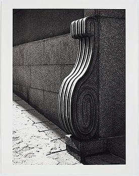 Lennart Durehed, photograph signed and numbered 4/25 on verso.