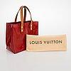 Louis vuitton, a red 'reade' bag.