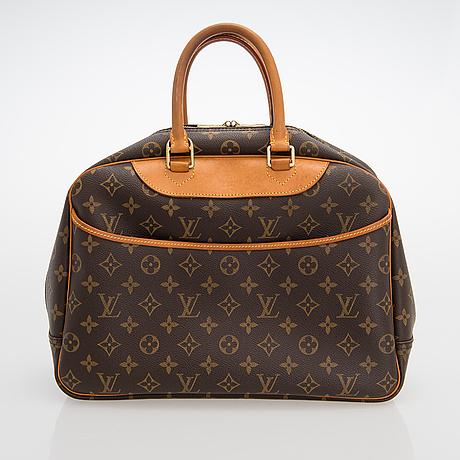 Louis vuitton, a monogram 'deauville' bag.
