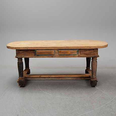 A 18th century table.