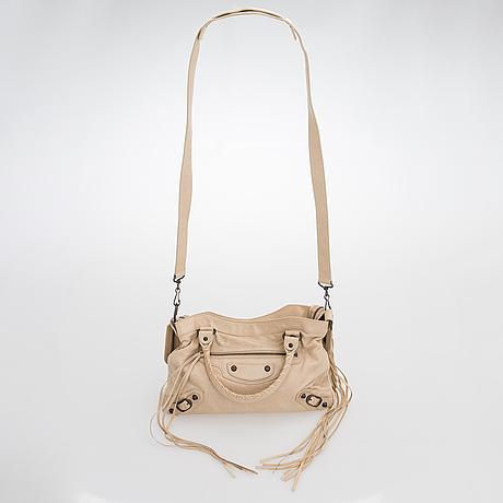 Balenciaga, a 'first' leather bag.