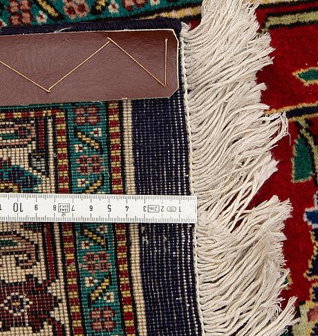 A carpet, old tabriz, ca 400 x 300.