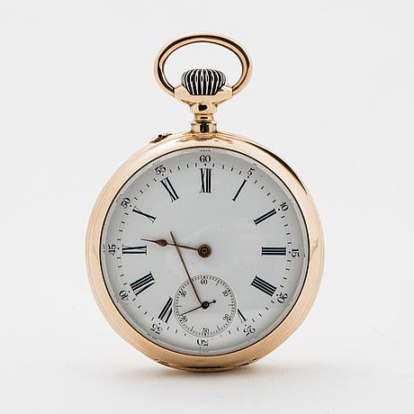 Pocket watch, 49 mm.
