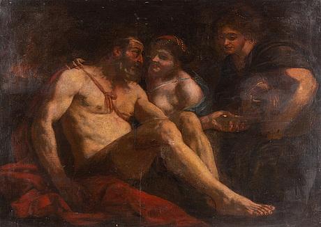 Italien school, 17/18th century, oil on canvas.