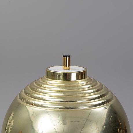 Hans-agne jakobsson, a brass floor light, markaryd.
