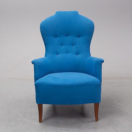 Carl malmsten,  a 'farmor' easy chair, ab o.h. sjögren, tranås.