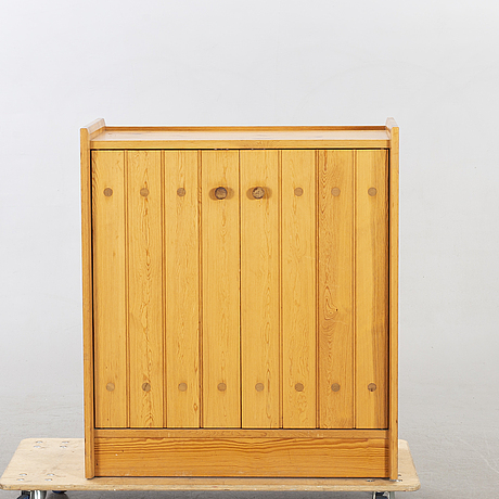 A pine wood cabinet, karl andersson & söner, possiblyroland wilhelmsson  1960-70's.